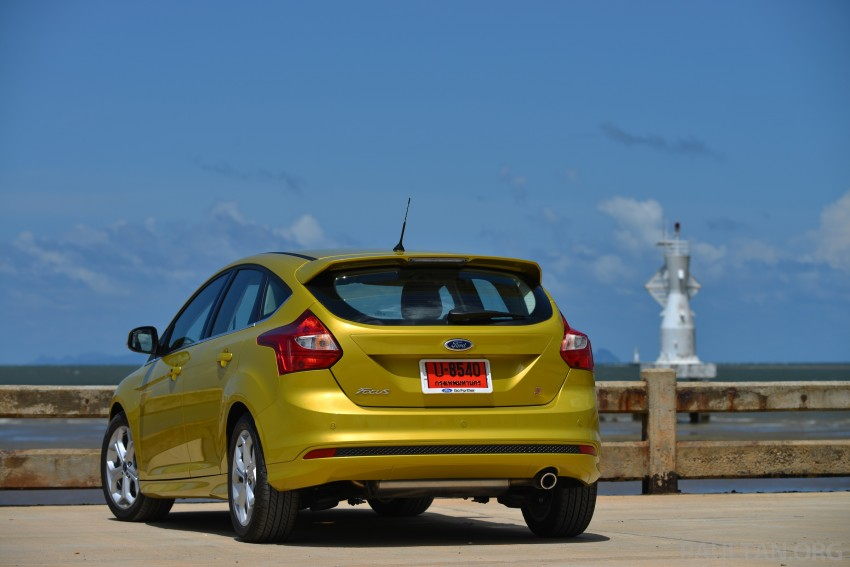 DRIVEN: New Ford Focus Hatch and Sedan in Krabi Image #118760