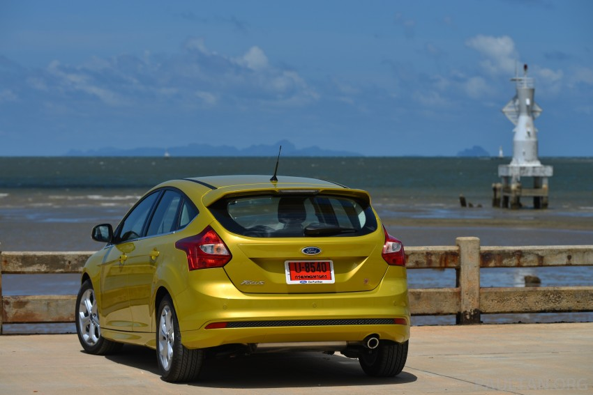 DRIVEN: New Ford Focus Hatch and Sedan in Krabi Image #118761