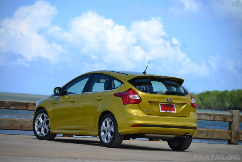 DRIVEN: New Ford Focus Hatch and Sedan in Krabi Image #118763