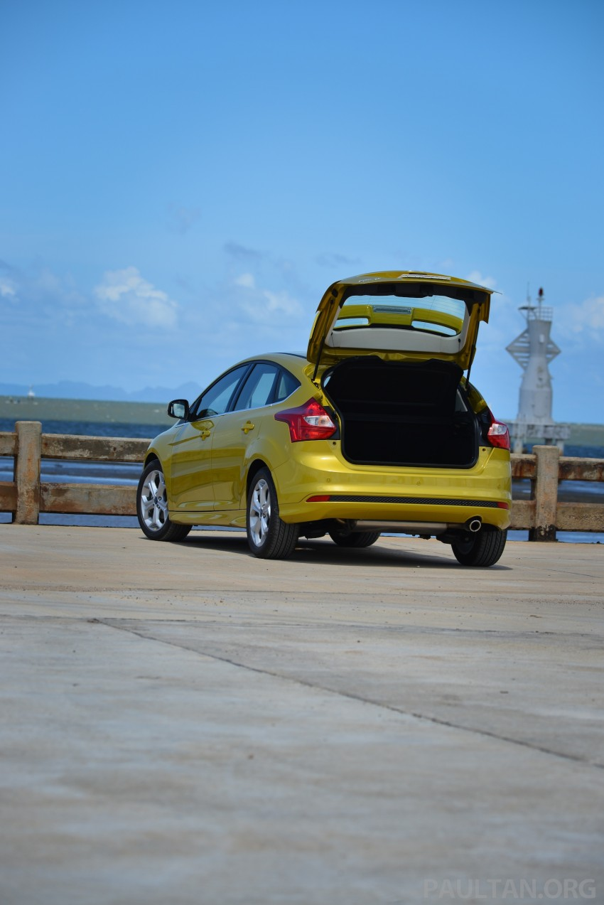 DRIVEN: New Ford Focus Hatch and Sedan in Krabi Image #118765