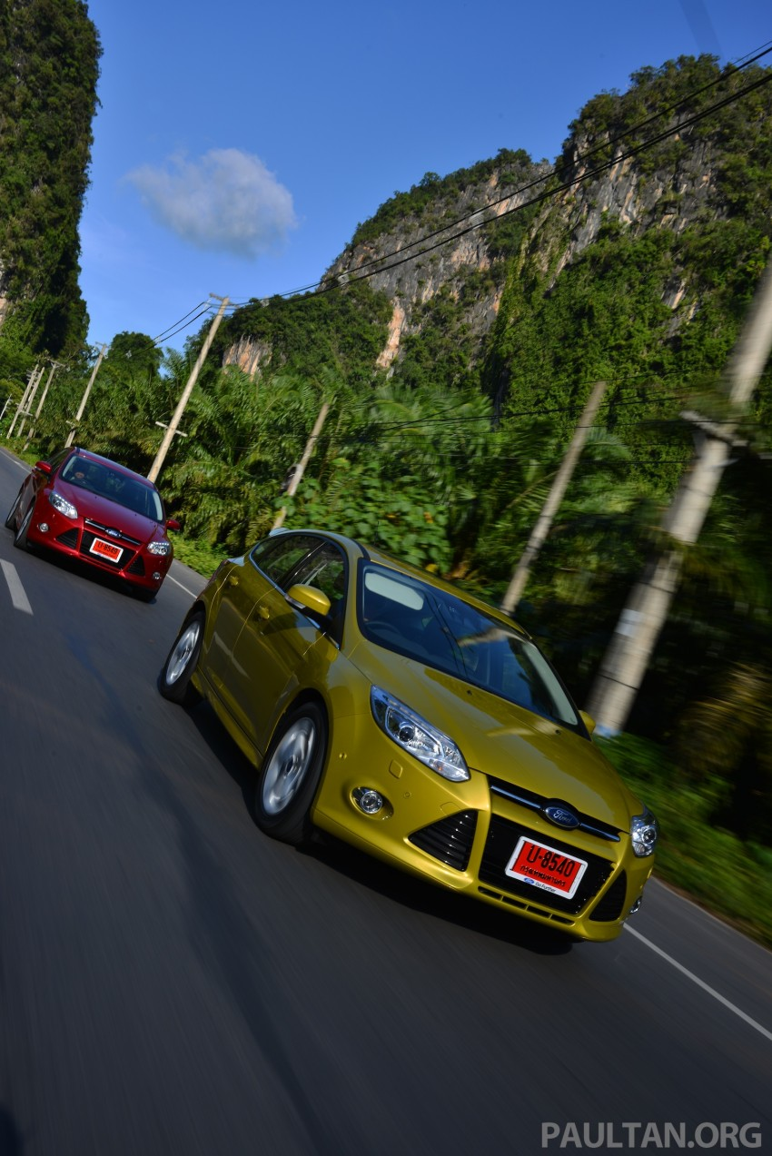 DRIVEN: New Ford Focus Hatch and Sedan in Krabi Image #118730