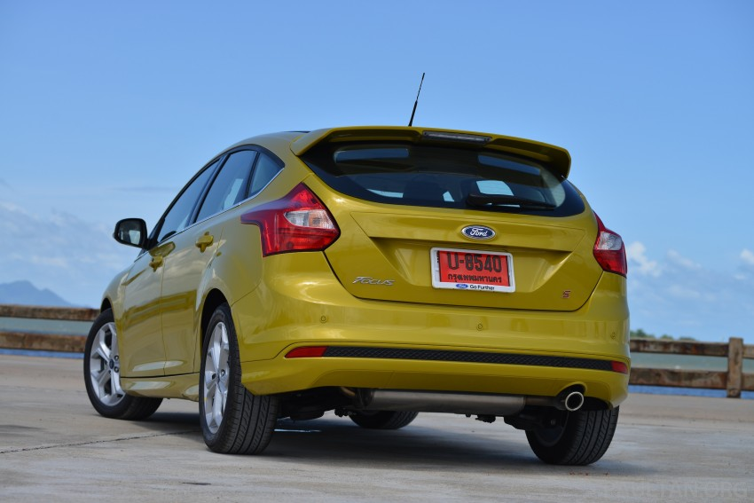DRIVEN: New Ford Focus Hatch and Sedan in Krabi Image #118766