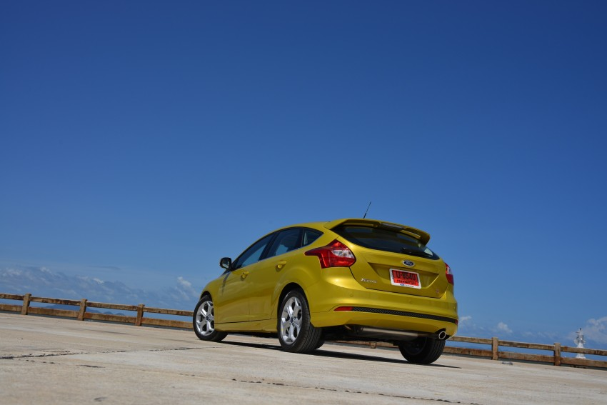 DRIVEN: New Ford Focus Hatch and Sedan in Krabi Image #118768