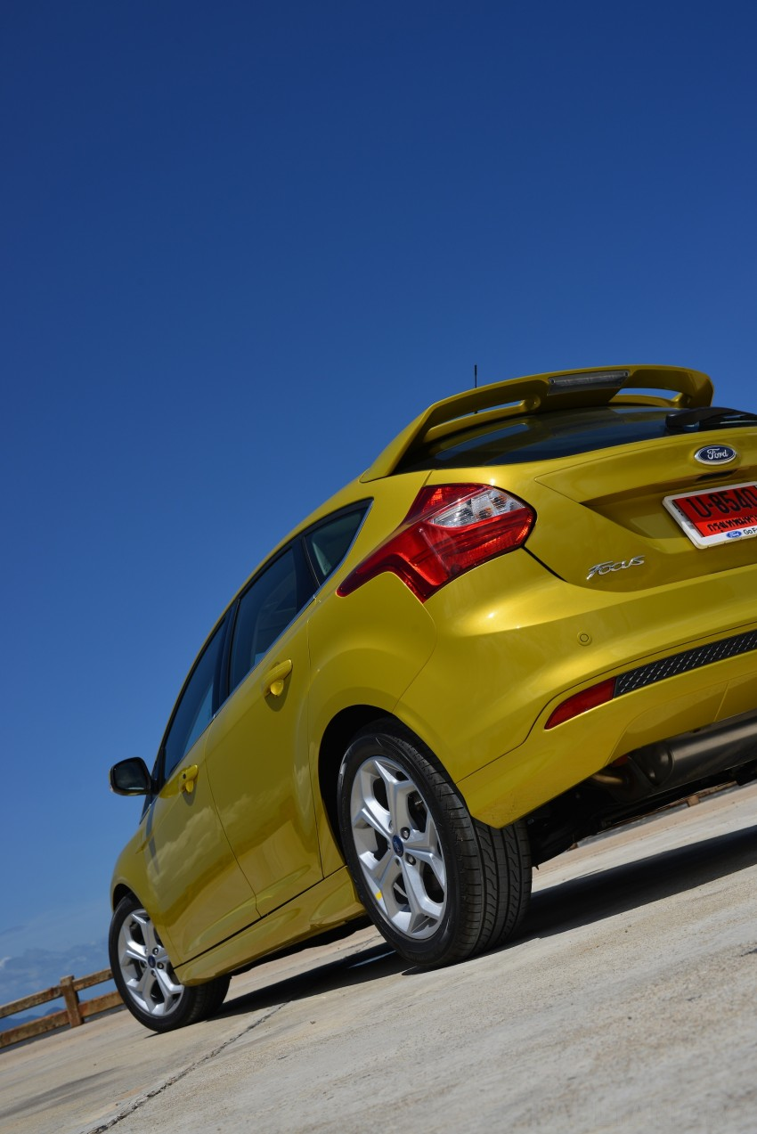 DRIVEN: New Ford Focus Hatch and Sedan in Krabi Image #118769