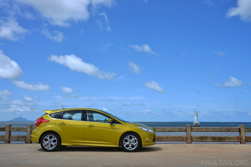 DRIVEN: New Ford Focus Hatch and Sedan in Krabi Image #118731