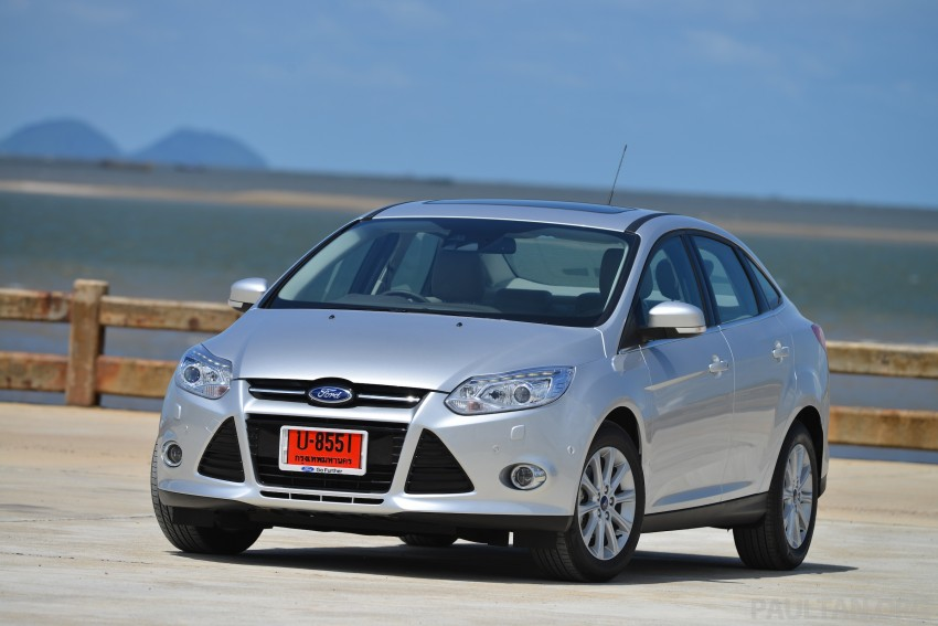 DRIVEN: New Ford Focus Hatch and Sedan in Krabi Image #118776