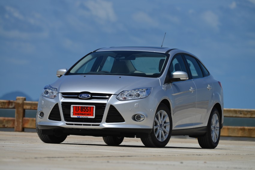 DRIVEN: New Ford Focus Hatch and Sedan in Krabi Image #118777