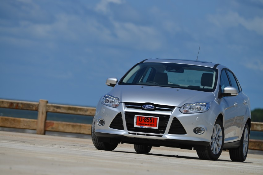 DRIVEN: New Ford Focus Hatch and Sedan in Krabi Image #118778