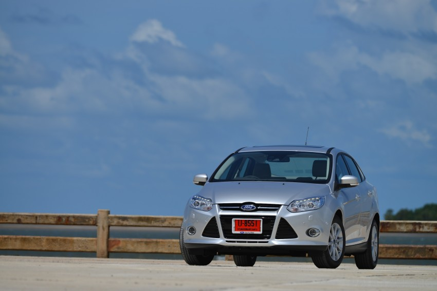 DRIVEN: New Ford Focus Hatch and Sedan in Krabi Image #118779