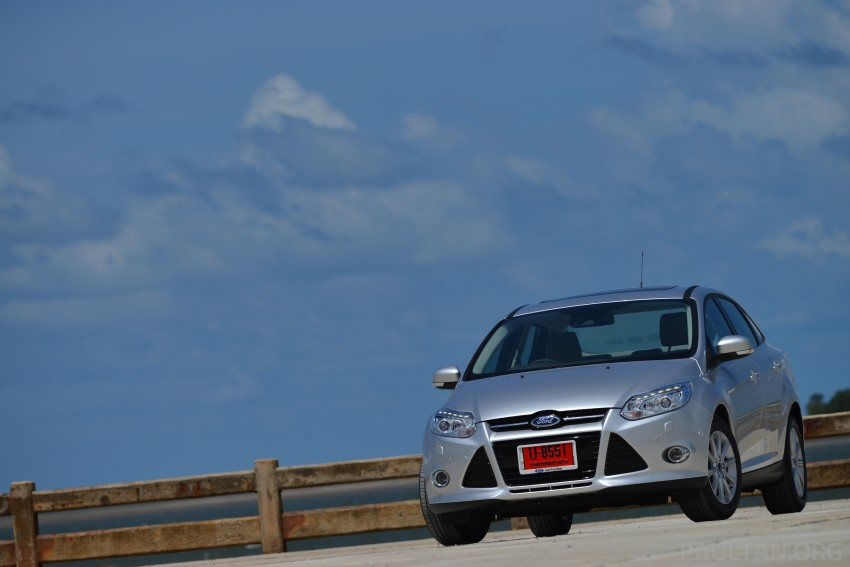 DRIVEN: New Ford Focus Hatch and Sedan in Krabi Image #118780