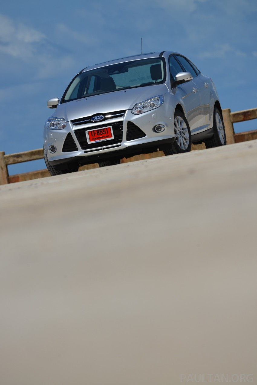 DRIVEN: New Ford Focus Hatch and Sedan in Krabi Image #118781