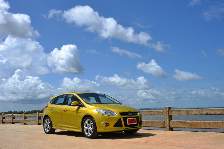 DRIVEN: New Ford Focus Hatch and Sedan in Krabi Image #118732