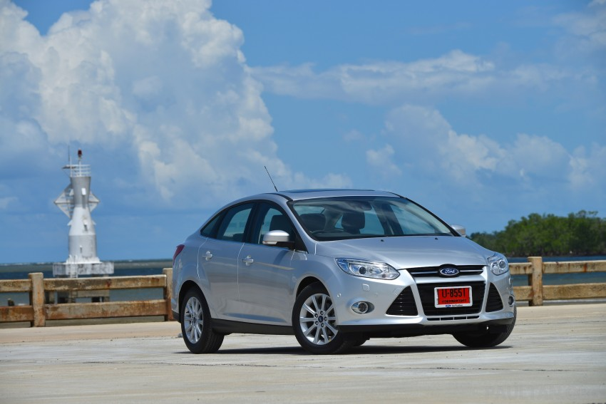 DRIVEN: New Ford Focus Hatch and Sedan in Krabi Image #118788
