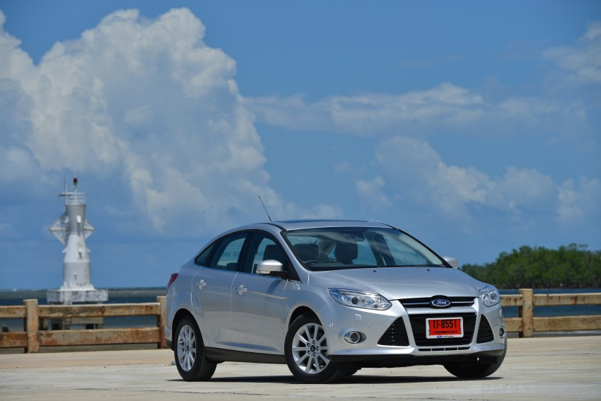 DRIVEN: New Ford Focus Hatch and Sedan in Krabi Image #118789