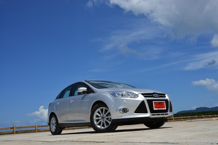 DRIVEN: New Ford Focus Hatch and Sedan in Krabi Image #118790