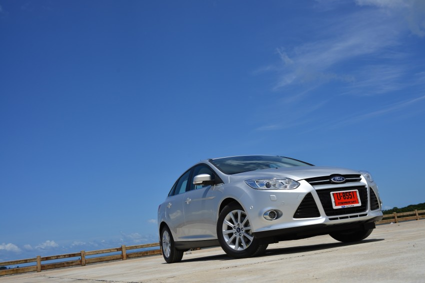 DRIVEN: New Ford Focus Hatch and Sedan in Krabi Image #118791