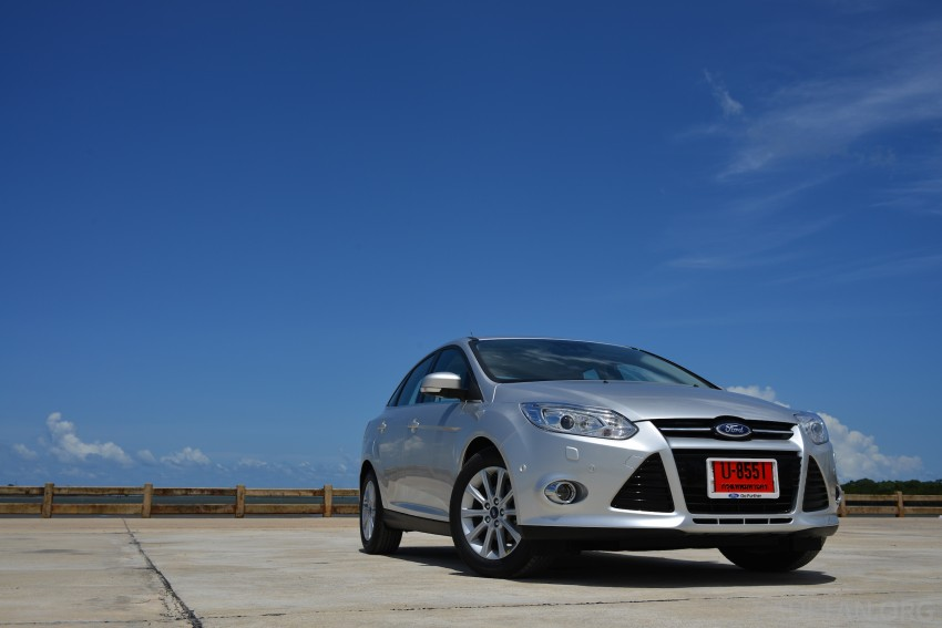 DRIVEN: New Ford Focus Hatch and Sedan in Krabi Image #118792