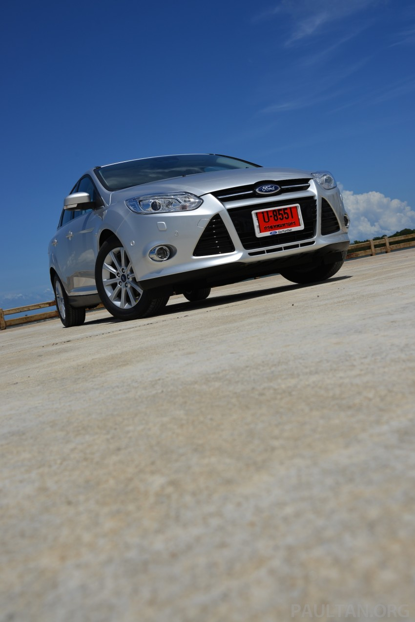 DRIVEN: New Ford Focus Hatch and Sedan in Krabi Image #118793