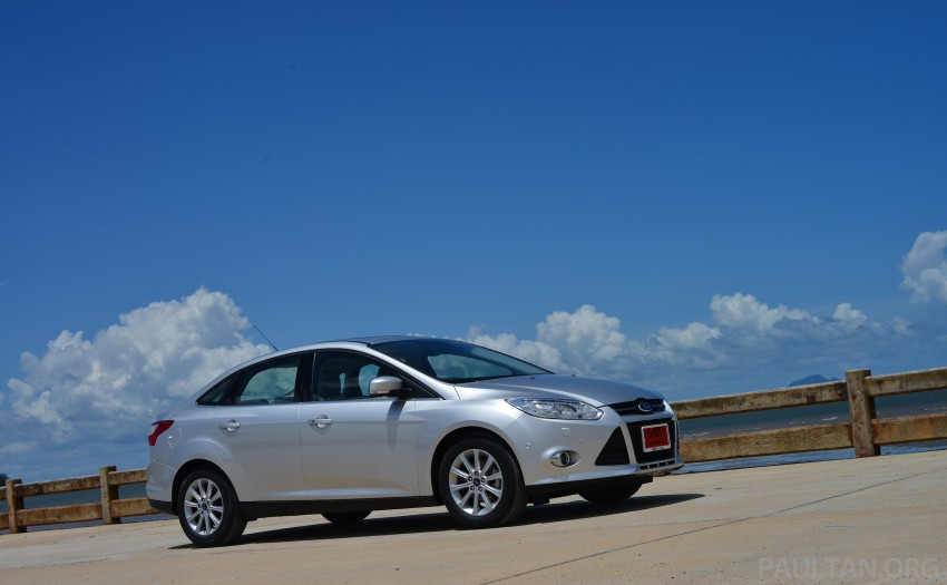 DRIVEN: New Ford Focus Hatch and Sedan in Krabi Image #118794