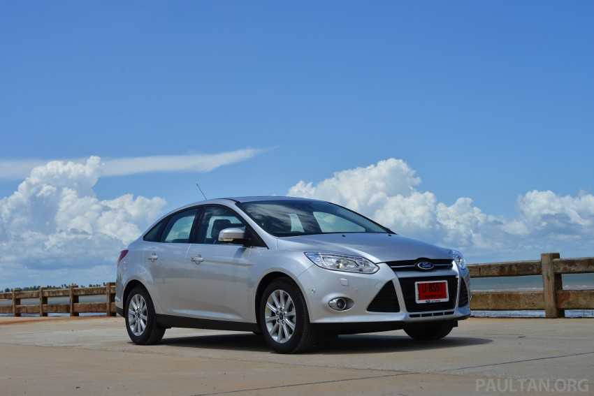 DRIVEN: New Ford Focus Hatch and Sedan in Krabi Image #118795