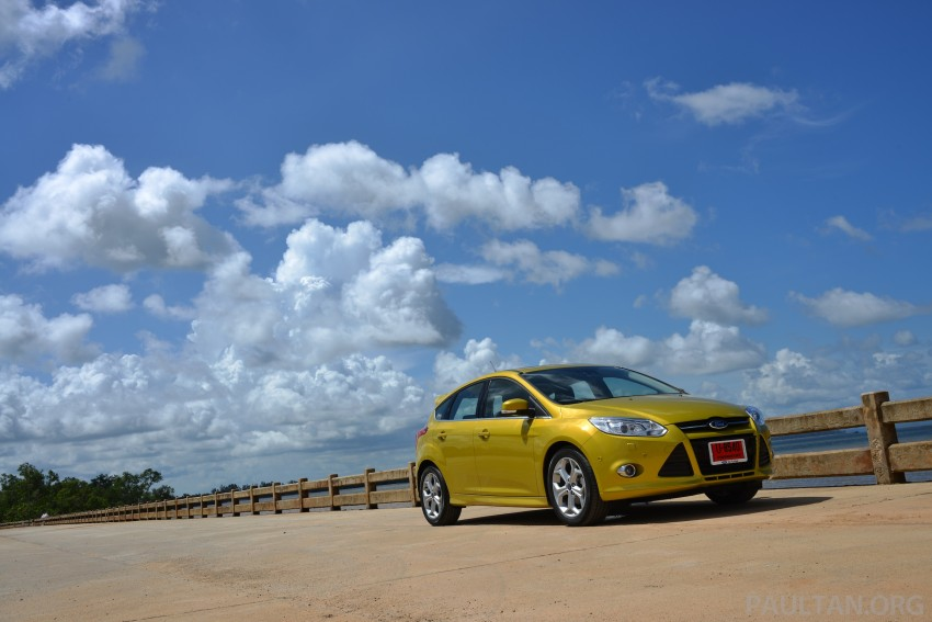 DRIVEN: New Ford Focus Hatch and Sedan in Krabi Image #118733
