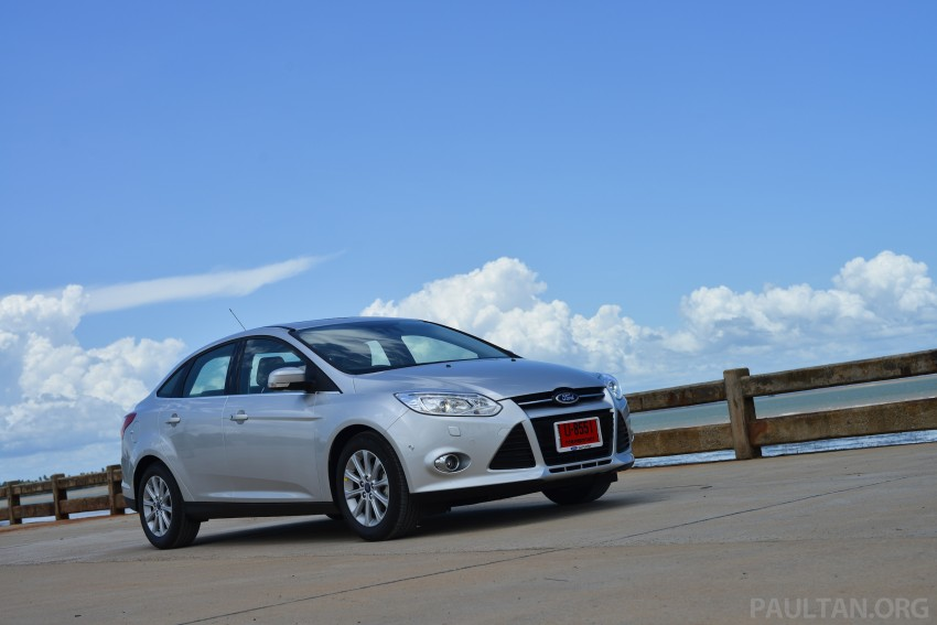 DRIVEN: New Ford Focus Hatch and Sedan in Krabi Image #118796