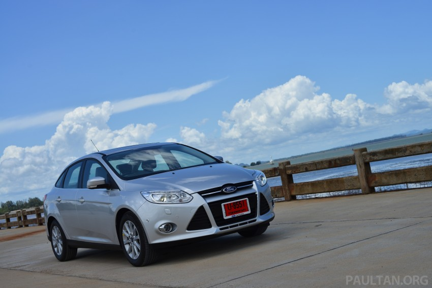 DRIVEN: New Ford Focus Hatch and Sedan in Krabi Image #118797