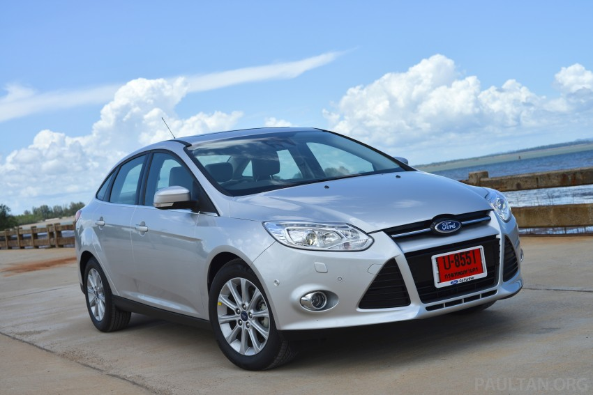 DRIVEN: New Ford Focus Hatch and Sedan in Krabi Image #118798