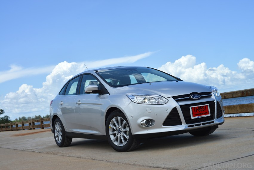 DRIVEN: New Ford Focus Hatch and Sedan in Krabi Image #118799