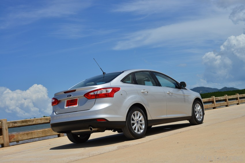 DRIVEN: New Ford Focus Hatch and Sedan in Krabi Image #118803