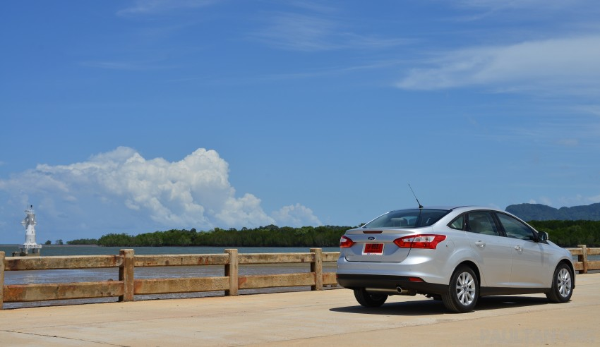 DRIVEN: New Ford Focus Hatch and Sedan in Krabi Image #118804