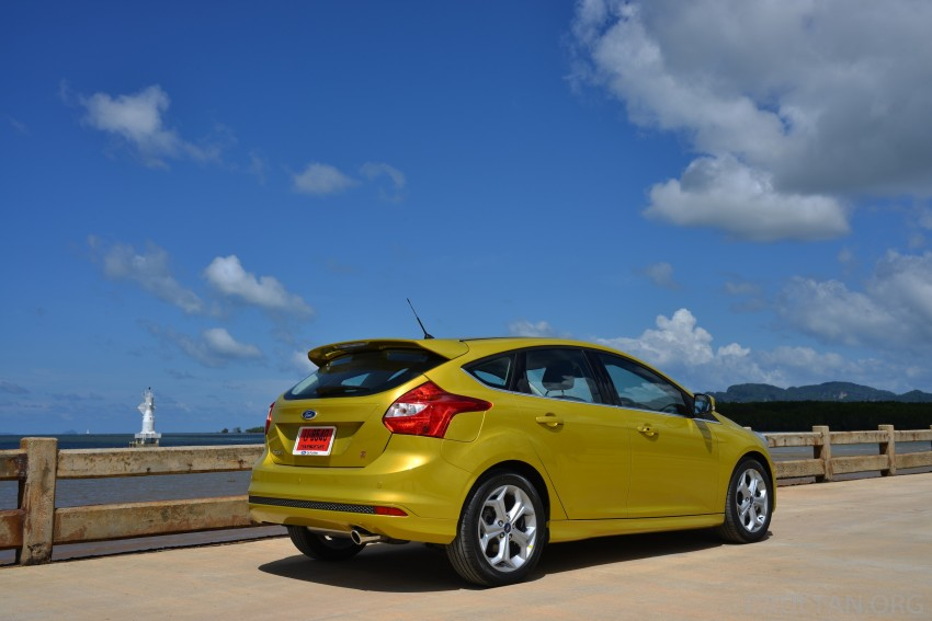 DRIVEN: New Ford Focus Hatch and Sedan in Krabi Image #118734