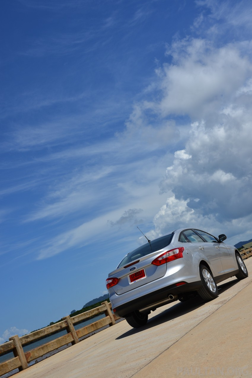 DRIVEN: New Ford Focus Hatch and Sedan in Krabi Image #118807