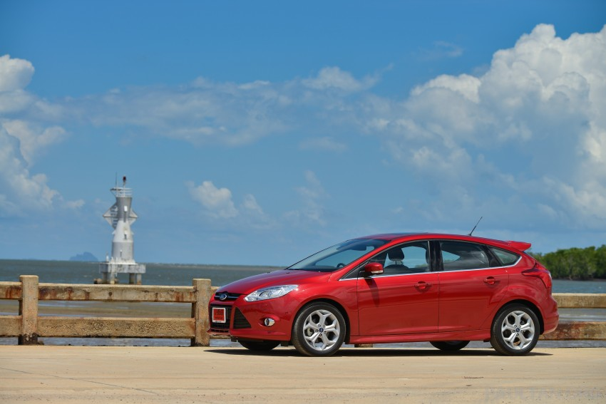 DRIVEN: New Ford Focus Hatch and Sedan in Krabi Image #118809