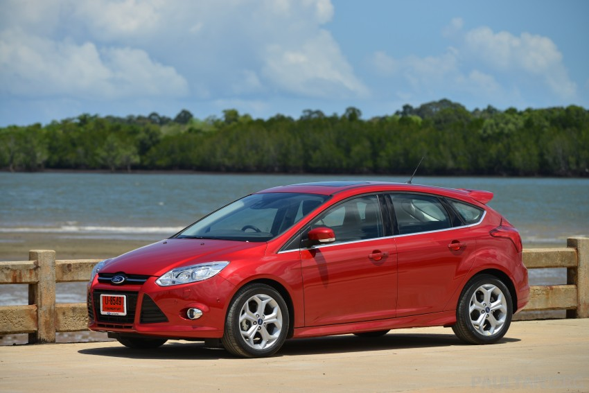 DRIVEN: New Ford Focus Hatch and Sedan in Krabi Image #118810