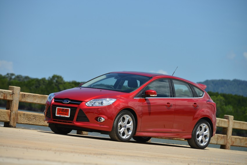 DRIVEN: New Ford Focus Hatch and Sedan in Krabi Image #118811