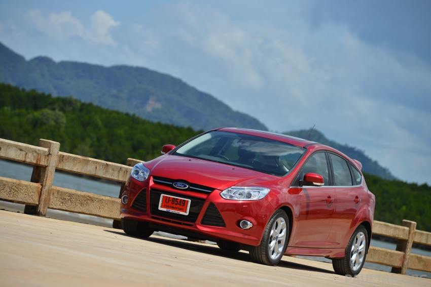 DRIVEN: New Ford Focus Hatch and Sedan in Krabi Image #118812