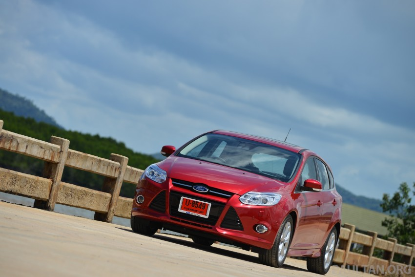 DRIVEN: New Ford Focus Hatch and Sedan in Krabi Image #118813