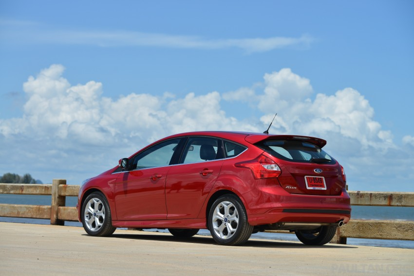 DRIVEN: New Ford Focus Hatch and Sedan in Krabi Image #118815
