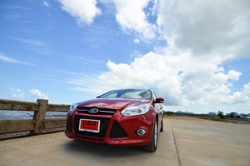 DRIVEN: New Ford Focus Hatch and Sedan in Krabi Image #118816