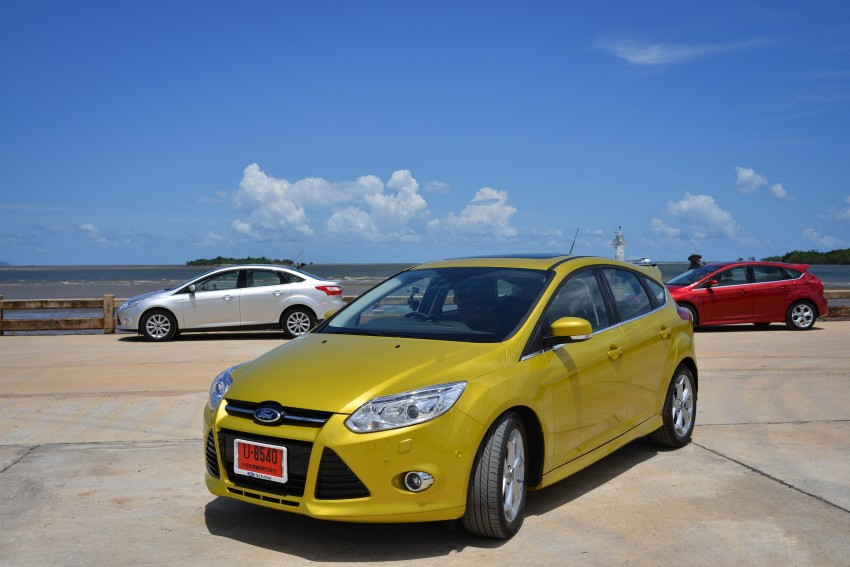 DRIVEN: New Ford Focus Hatch and Sedan in Krabi Image #118819