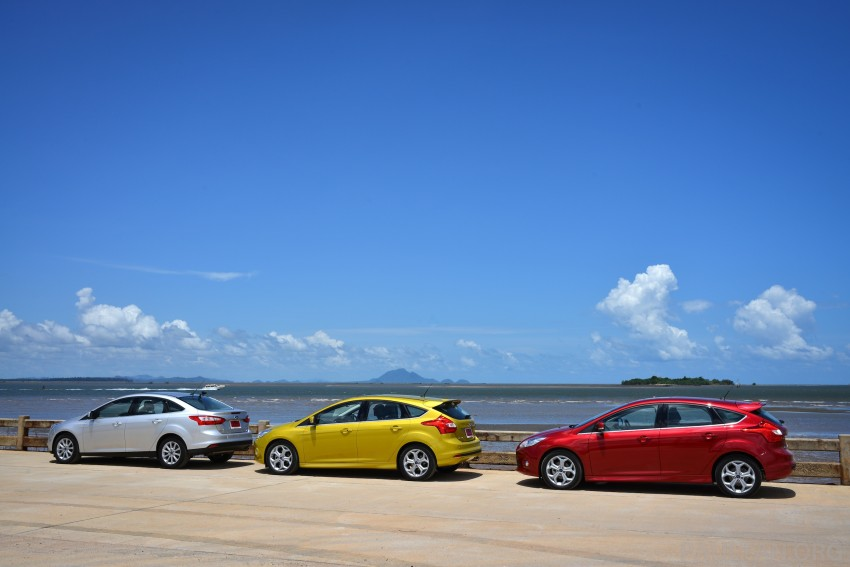 DRIVEN: New Ford Focus Hatch and Sedan in Krabi Image #118820