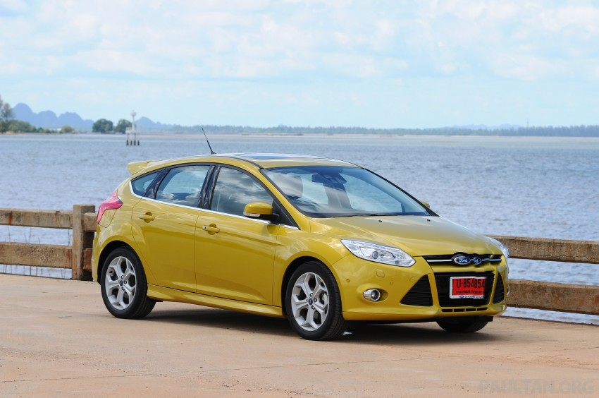 DRIVEN: New Ford Focus Hatch and Sedan in Krabi Image #118823