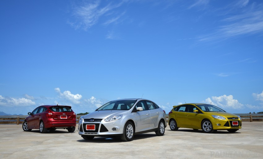 DRIVEN: New Ford Focus Hatch and Sedan in Krabi Image #118824
