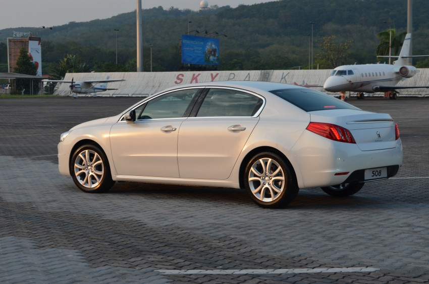 Peugeot 508 relaunched, now with five variants including HDi diesel and SW wagon – from RM159k Image #113086