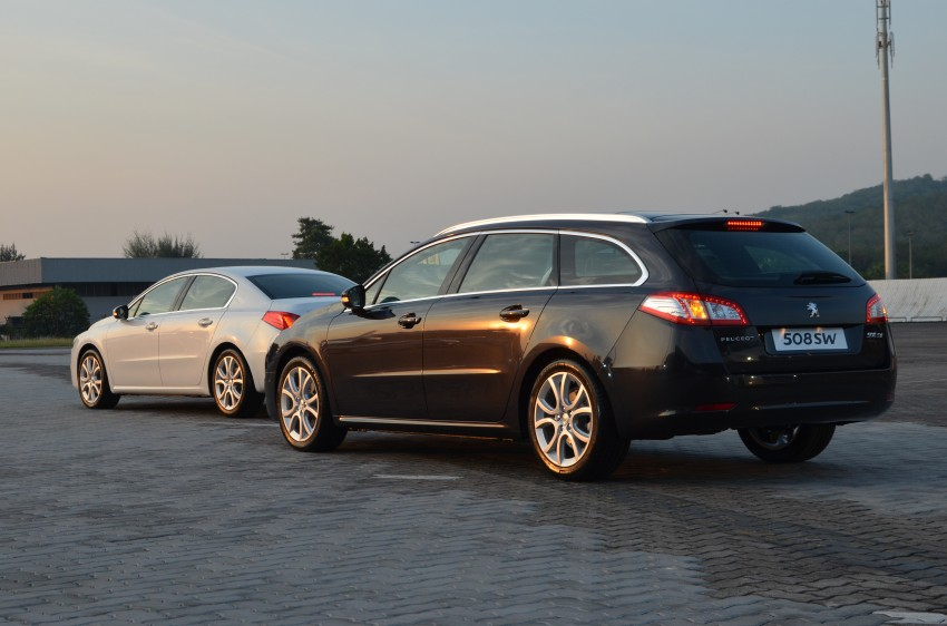 Peugeot 508 relaunched, now with five variants including HDi diesel and SW wagon – from RM159k Image #113089