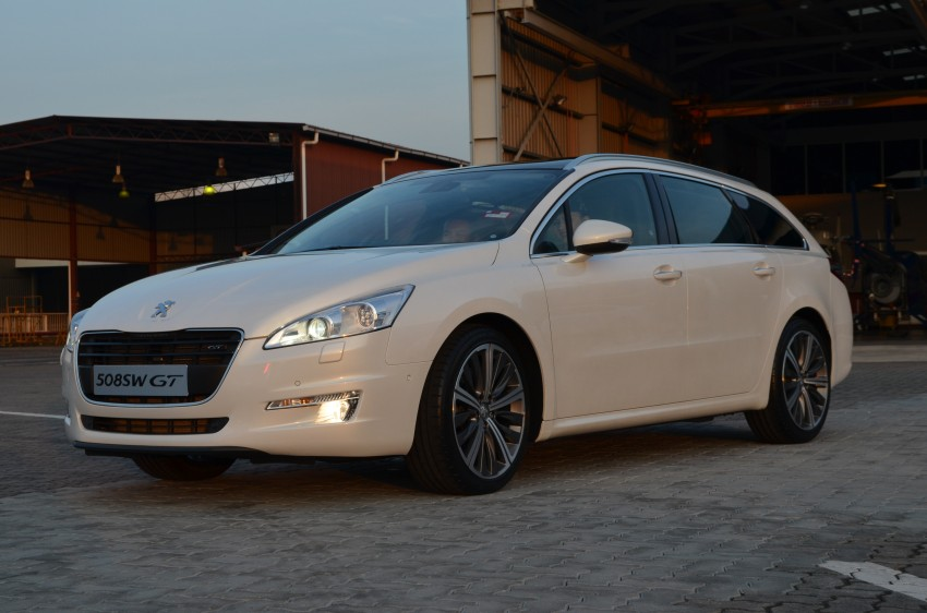 Peugeot 508 relaunched, now with five variants including HDi diesel and SW wagon – from RM159k Image #113095