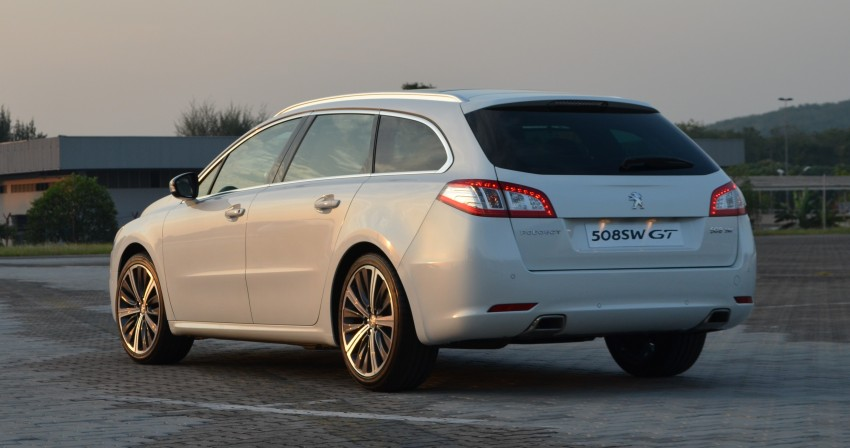 Peugeot 508 relaunched, now with five variants including HDi diesel and SW wagon – from RM159k Image #113098