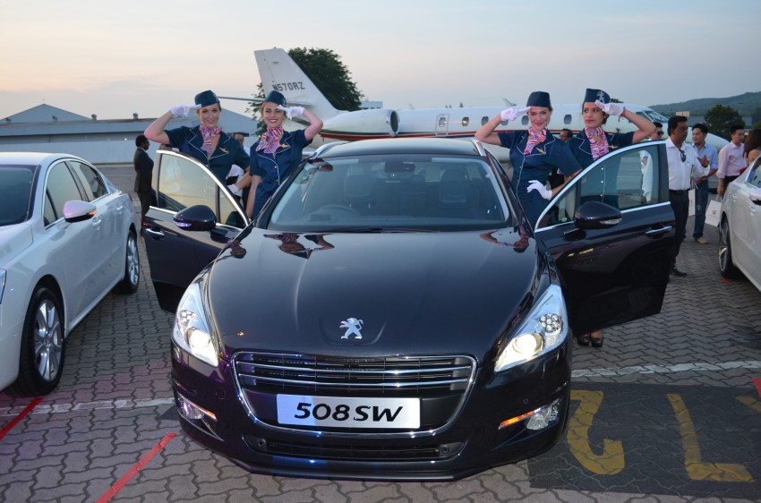Peugeot 508 relaunched, now with five variants including HDi diesel and SW wagon – from RM159k Image #113137