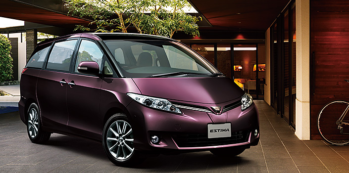 Toyota Estima MPV gets a new facelift for 2012 Image #106334
